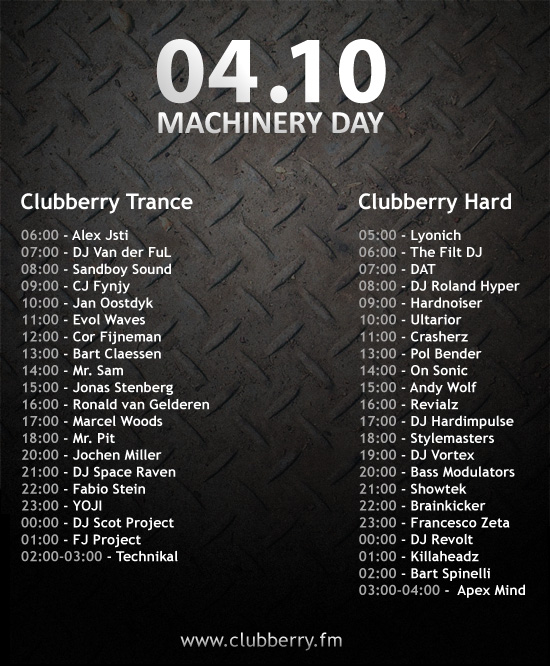 machineryday_lineup