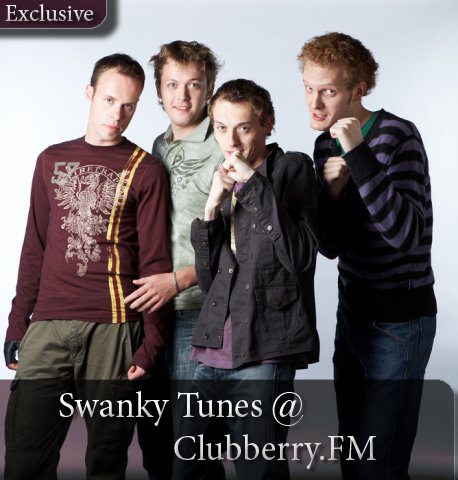 Swanky Tunes on Clubberry House