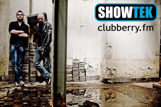 Showtek - We Live for the Music Radioshow @ Clubberry Hard